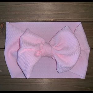 Other - Baby Head Wraps -Pastel Pink